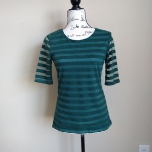 Sunday in Brooklyn Anthro green top size S